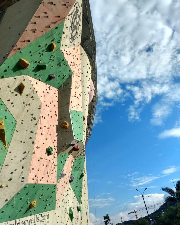 Muro de escalar en cali