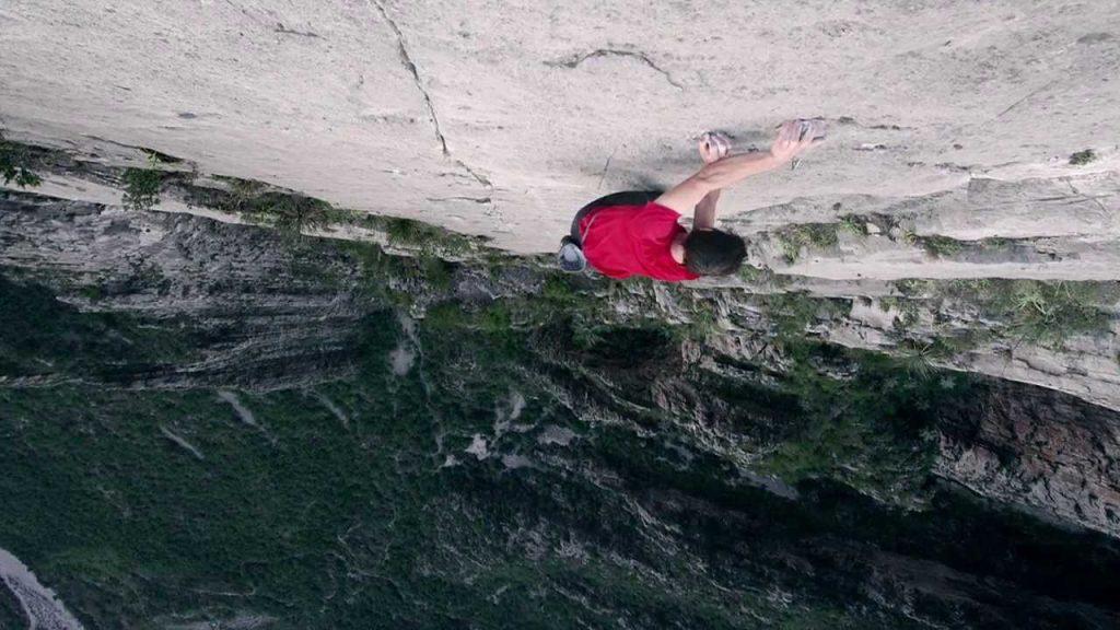 Tipo de escalada en free solo
