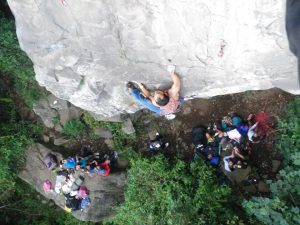 Escalada en roca cali colombia Dapa