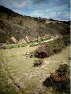 Parque de escalada en roca boyaca