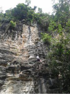 Escalada en roca payande tolima