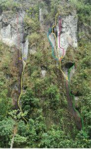 Escalada en roca juntas ibague tolima