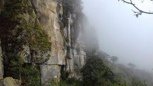 Escalada en roca choachi valle escondido