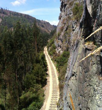 Parque de escalada Suesca