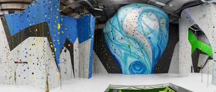 rocodromo de escalada sender one