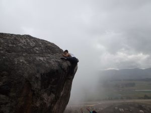 Escalda en roca canoas cundinamarca