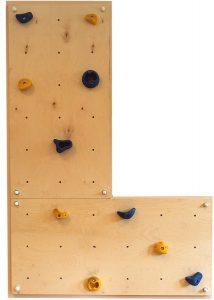 mini muro de escalada para niños