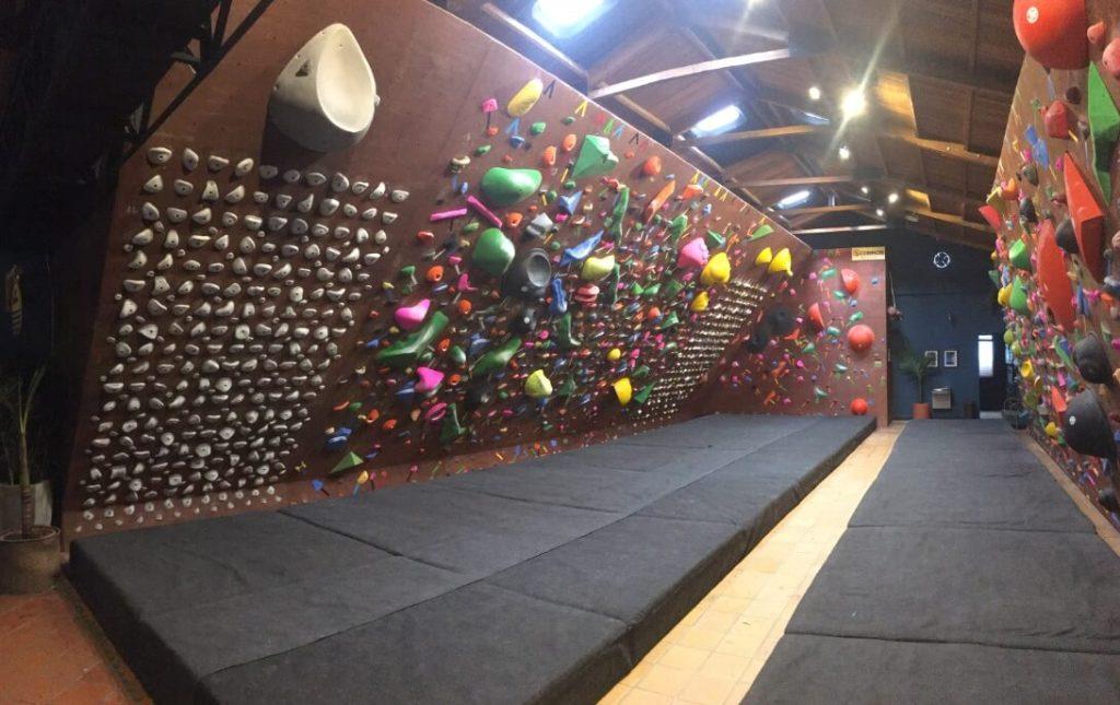 Muros de escalada en bogota