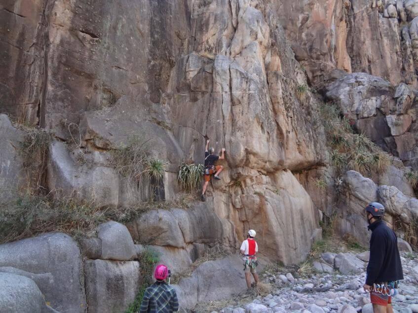 Capilla del monte cordoba escalada
