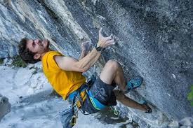 Estefano sport climbing