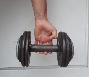 Flexión extensión de dedos ejercicios de escalada